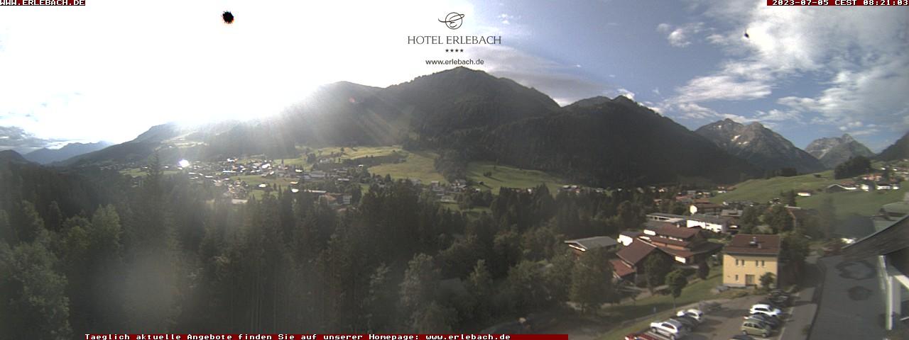 Webcam Hotel Erlebach
